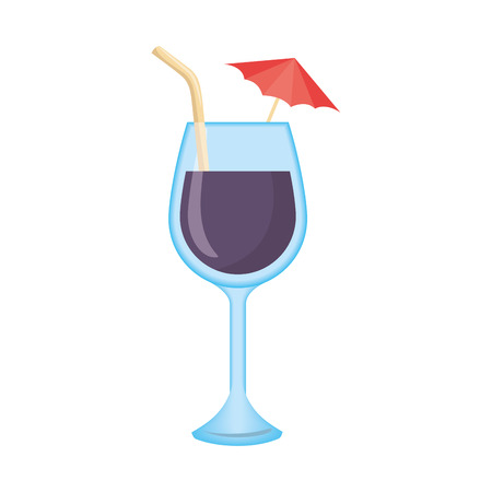 isolated cocktail cup icon vector graphic illustration