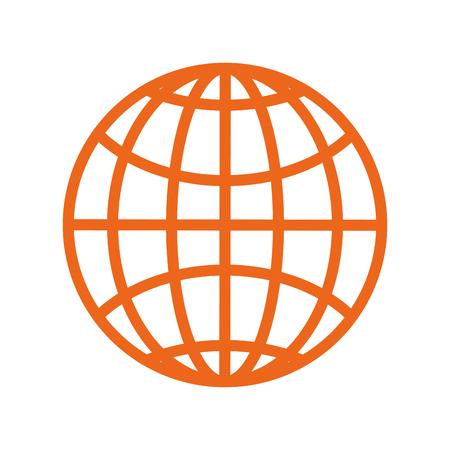 geïsoleerde reizen paspoort pictogram vector grafische illustratie