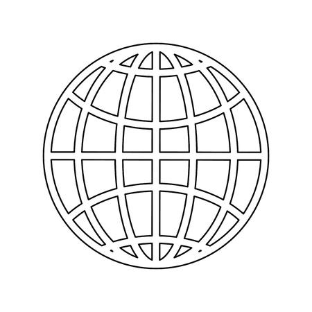 分離旅行パスポート アイコン ベクトル グラフィック イラスト  イラスト・ベクター素材