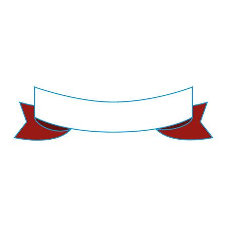 isolated decorative ribbon icon vector graphic illustration