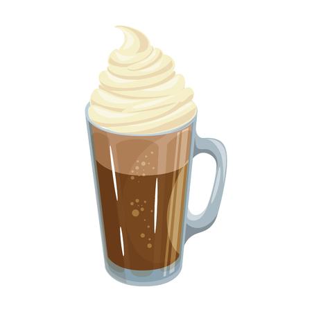 Geïsoleerde melk schudden pictogram vector illustratie grafisch ontwerp Stock Illustratie
