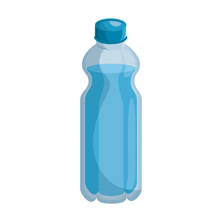 isolated water bottle icon vector illustration graphic design