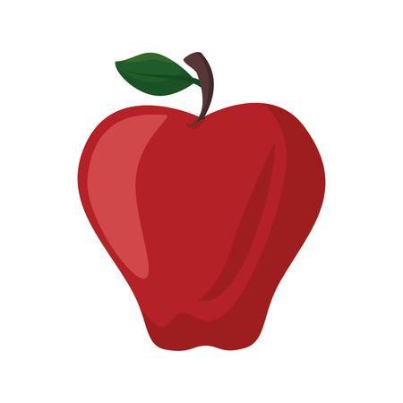 isolated sweet apple icon vector illustration graphic design Ilustração