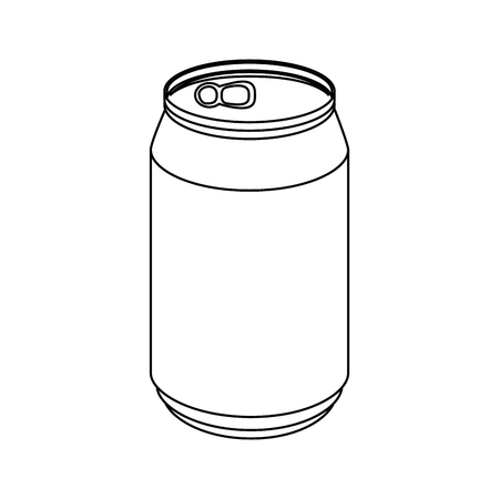 can of soda icon vector illustration graphic design Illustration