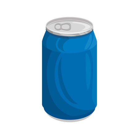 can of soda icon vector illustration graphic design Vectores