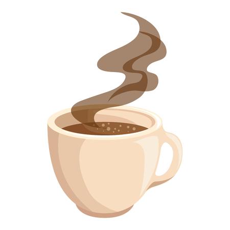 チョコレートのアイコン ベクトル イラスト グラフィック デザインのホットド リンク