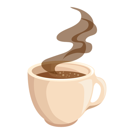 hot drink of chocolate icon vector illustration graphic design
