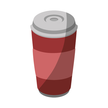hot drink container icon vector illustration graphic design