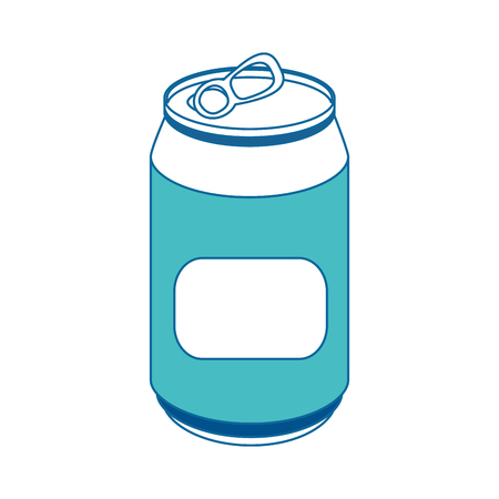 can of soda icon vector illustration graphic design Illustration