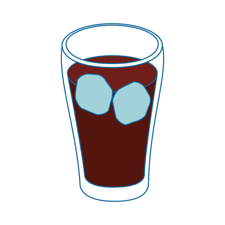 isolated cold soda drink icon vector illustration graphic design