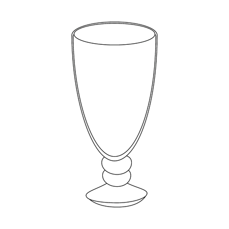 isolated glass cup icon vector illustration graphic design
