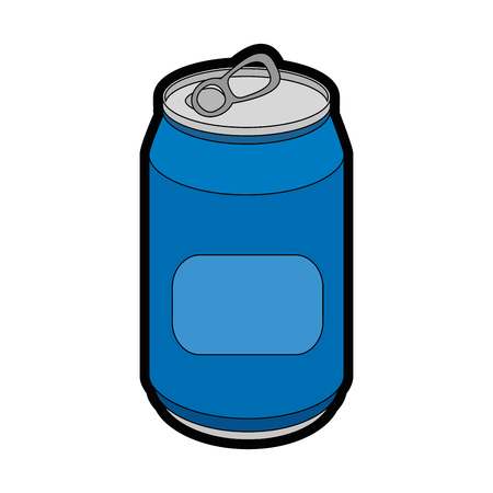 can of soda icon vector illustration graphic design Ilustração