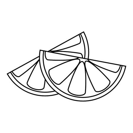 isolated acid lemon icon vector illustration graphic design