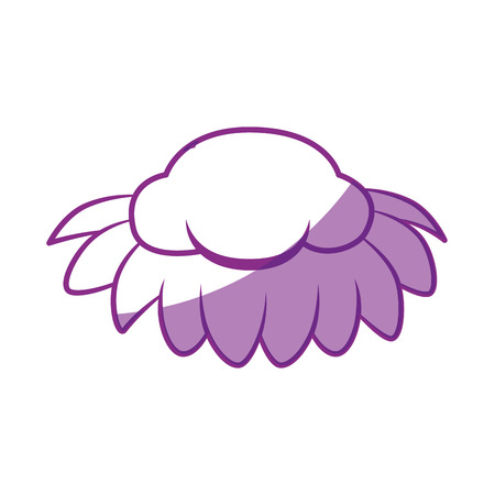 isolated cute moustache icon vector illustration graphic design