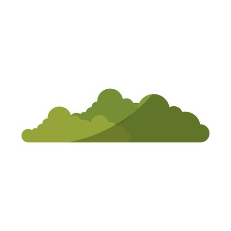 isolated cute bush icon vector illustration graphic design