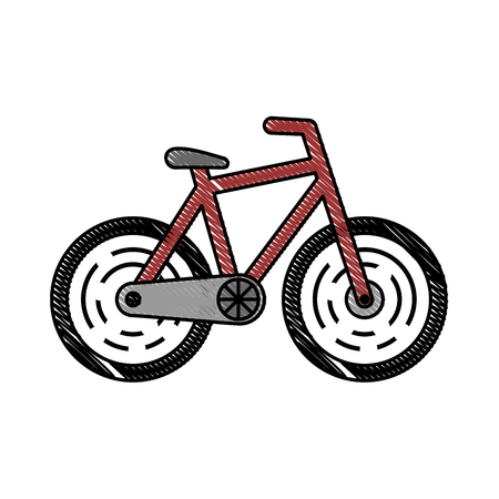 whine: isolated bicycle transport icon vector illustration graphic design
