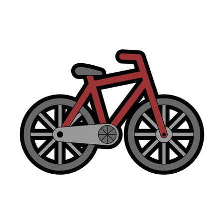 isolated bicycle transport icon vector illustration graphic design
