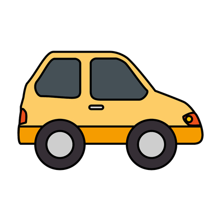 isolated particular car icon vector illustration graphic design