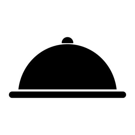 Plateau serveur isolé icône vecteur ilustration conception Banque d'images - 80758309