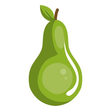 pear fresh fruit icon vector illustration design Illustration