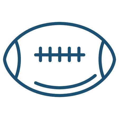 american football balloon icon vector illustration design Stock Vector - 80759595