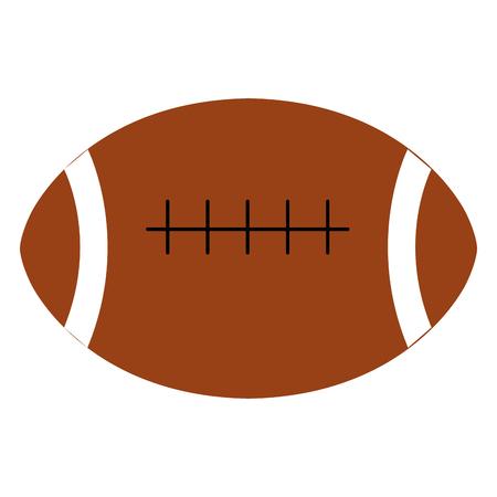 american football balloon icon vector illustration design Stock Vector - 80759692