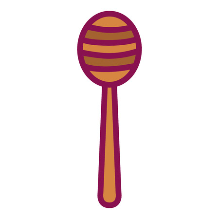honey stick isolated icon vector illustration design Иллюстрация