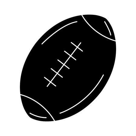 american football balloon icon vector illustration design Stock Vector - 80761290