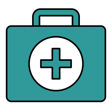simple life: Medical kit isolated icon vector illustration design Illustration