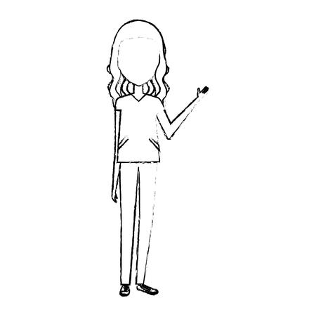 surgeon Professional woman of health vector illustration design Illustration