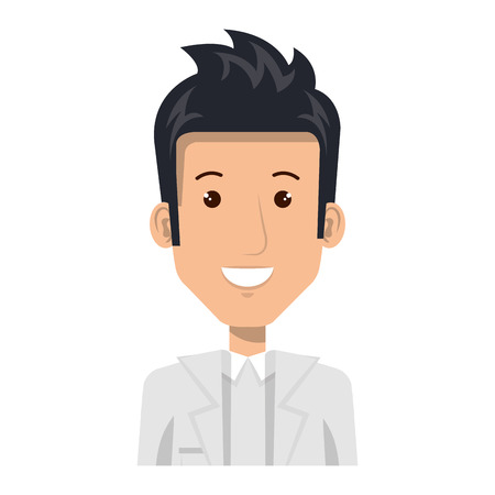 Professional man of health vector illustration design Ilustração