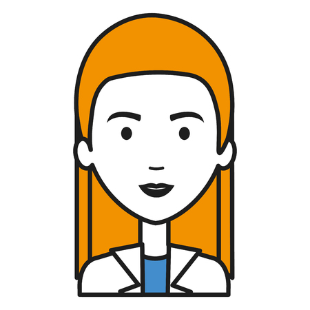 Professional woman of health vector illustration design Ilustração