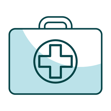simple life: medical kit isolated icon vector illustration design