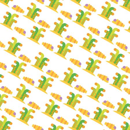 marine coral sealife pattern vector illustration design