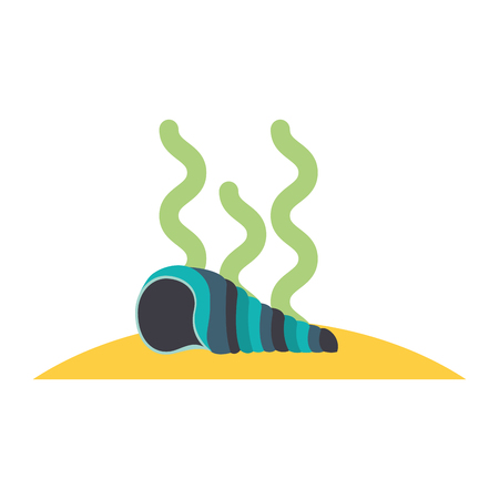 marine snail isolated icon vector illustration design