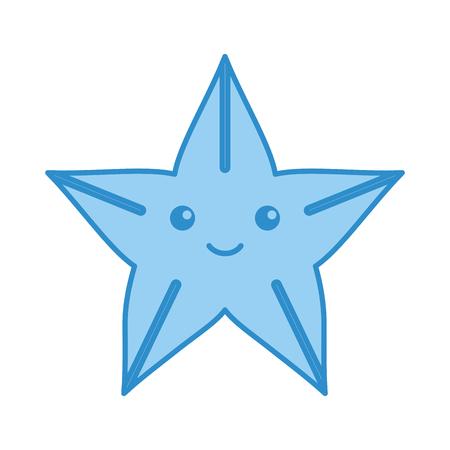 Cute starfish isolated icon vector illustration design Stock fotó - 80789808