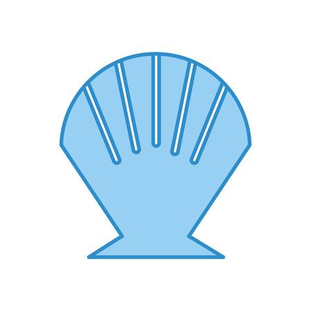 Sea shell isolated icon vector illustration design Reklamní fotografie - 80789831
