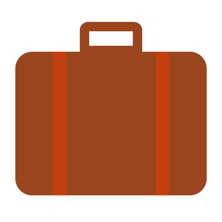 Suitcase travel isolated icon vector illustration design vector illustration design
