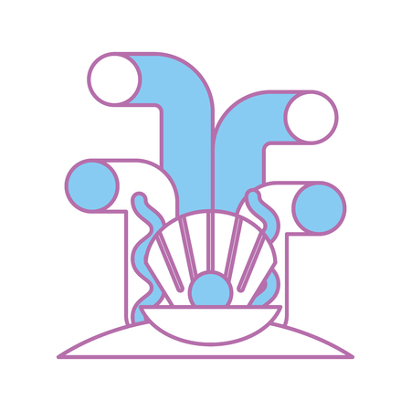 Lokalisiertes Ikonenvektor-Illustrationsdesign Vektorgrafik