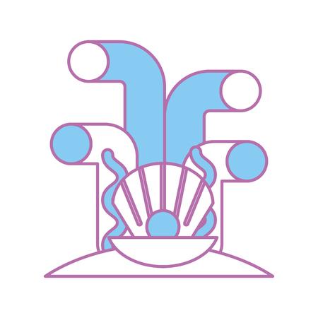 Projeto de ilustração vetorial ícone isolado Ilustración de vector