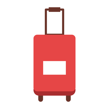 suitcase travel isolated icon vector illustration design vector illustration design Illustration
