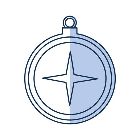 Sailing object vector illustration design