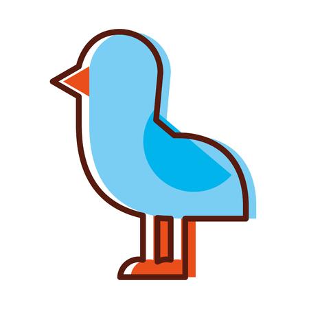 cute bird sea icon vector illustration design Stock Vector - 80791907