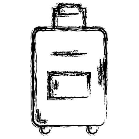 koffer reizen geïsoleerd pictogram vector illustratie ontwerp vector illustratie ontwerp