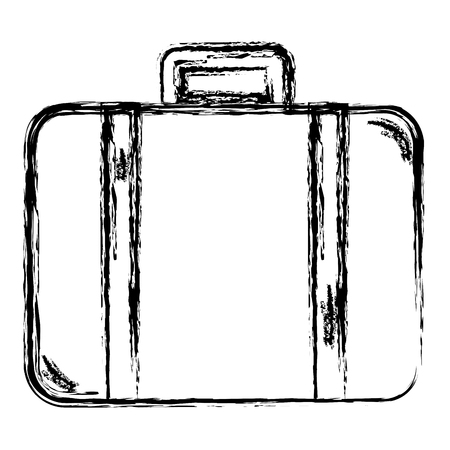 suitcase travel isolated icon vector illustration design vector illustration design Ilustração