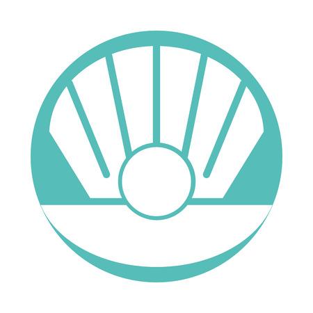 Sea shell isolated icon vector illustration design Banco de Imagens - 80792302