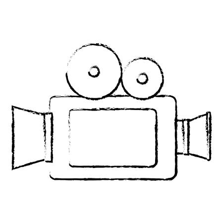 Caméra cinéma isolé icône illustration vectorielle conception Banque d'images - 80795346