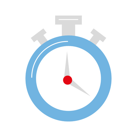 chronometer watch isolated icon vector illustration design Ilustração