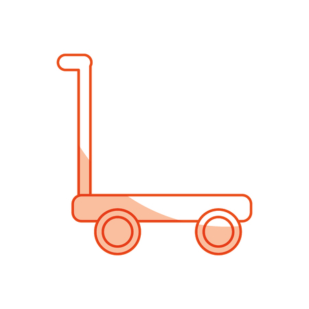 cart delivery isolated icon vector illustration design