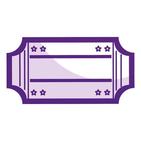 Ticket Papier isoliert Symbol Vektor-Illustration Design Standard-Bild - 80813367